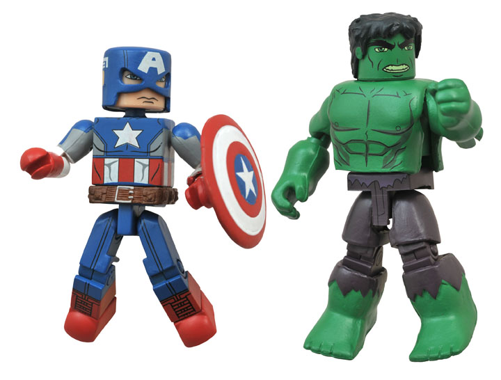 MARVEL SUPER HERO SPECTACULAR - Captain America and Hulk