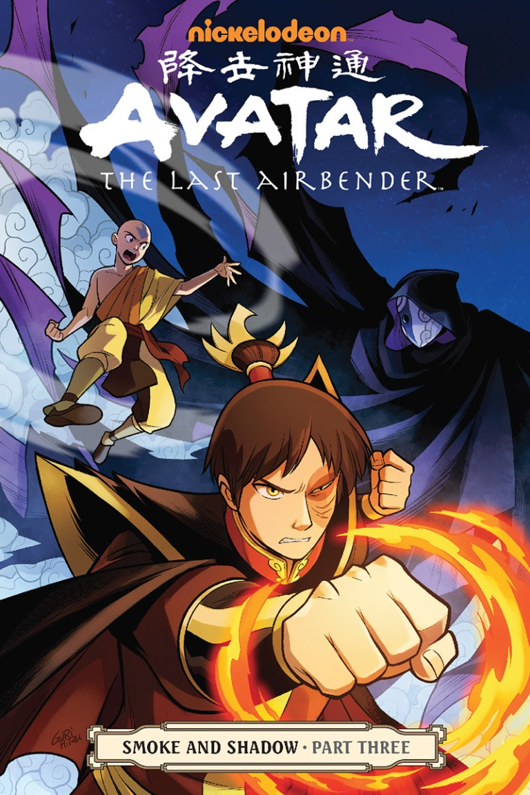 Avatar-The Last Airbender-Smoke and Shadow Part Three