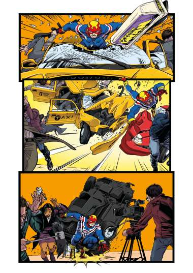 Fighting American Issue 1 Preview 4