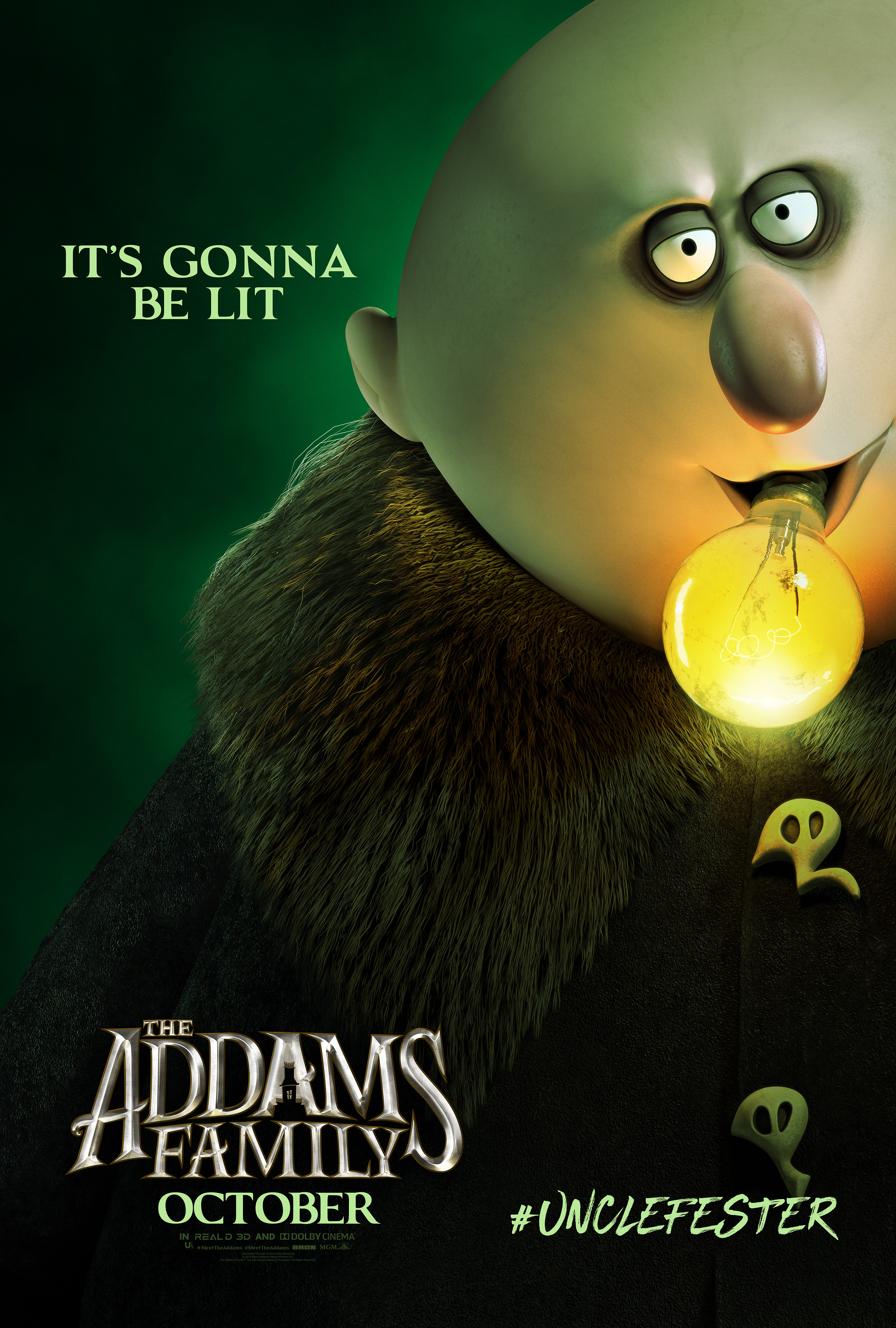 'The Addams Family' Debut Character Posters – The Nerds of ...